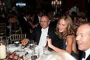 CHRIS BLACKHURST; TRINNI WOODALL, Evgeny Lebedev and Graydon Carter hosted the Raisa Gorbachev charity Foundation Gala, Stud House, Hampton Court, London. 22 September 2011. <br /> <br />  , -DO NOT ARCHIVE-© Copyright Photograph by Dafydd Jones. 248 Clapham Rd. London SW9 0PZ. Tel 0207 820 0771. www.dafjones.com.