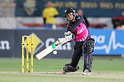 Bernadine Bezuidenhout looks to hit out. Women's T20 international Cricket , Australia v New Zealand White Ferns. North Sydney Oval, Sydney, NSW, Australia. 29 September 2018. Copyright Image: David Neilson / www.photosport.nz
