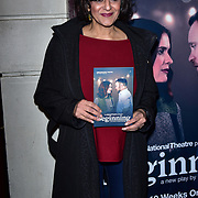 London, England, UK. 23 January 2018. Meera Syal Arrivers at Beginning - press night at Ambassadors Theatre.