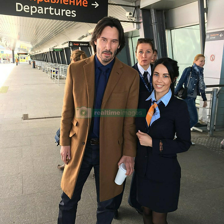 May 30, 2017 - Saint Petersburg, Russia - Actor Keanu Reeves in Saint Petersburg, Russia. The Hollywood star arrived in Russia to shoot Matthew Ross' romantic thriller 'Siberia'. Photo: twitter.com/oldLentach (Credit Image: © Russian Look via ZUMA Wire)