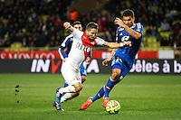 Joao MOUTINHO / Lindsay ROSE - 01.02.2015 - Monaco / Lyon - 23eme journee de Ligue 1 -<br />Photo : Serge Haouzi / Icon Sport