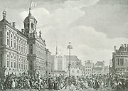 1795 A celebration in Amsterdam (Dam square )