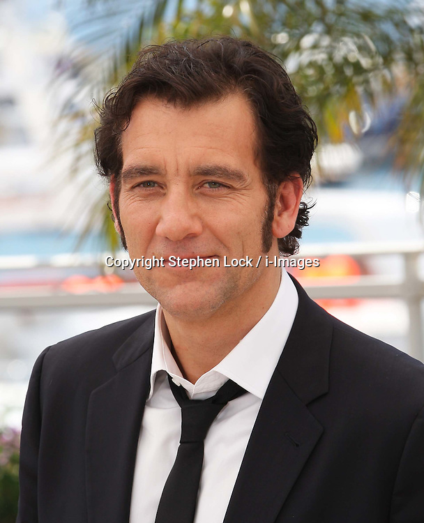 Clive Owen  at the Cannes Film Festival for his film Heminway & Gellhorn, Friday May 25th 2012. Photo by: Stephen Lock / i-Images