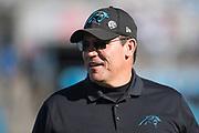 December 23, 2018. Panthers vs Falcons. Head Coach, Ron Rivera