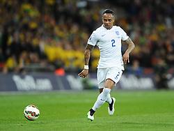 Nathaniel Clyne of England (Southampton)  - Photo mandatory by-line: Joe Meredith/JMP - Mobile: 07966 386802 - 27/03/2015 - SPORT - Football - London - Wembley Stadium - England v Lithuania - UEFA EURO 2016 Qualifier