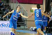DESCRIZIONE : Orchies 26 giugno 2013 Eurobasket 2013 femminile<br /> Italia Nazionale Femminile Serbia<br /> GIOCATORE : raffaella masciadri, sabrina cinili<br /> CATEGORIA : <br /> SQUADRA : Italia Nazionale Femminile <br /> EVENTO : Eurobasket 2013<br /> Italia Nazionale Femminile Serbia<br /> GARA : Italia Nazionale Femminile Serbia<br /> DATA : 26/06/2013<br /> SPORT : Pallacanestro <br /> AUTORE : Agenzia Ciamillo-Castoria/ElioCastoria<br /> Galleria : Eurobasket 2013<br /> Fotonotizia : Orchies 27 giugno 2013 Eurobasket 2013 femminile<br /> Italia Nazionale Femminile Serbia<br /> Predefinita :