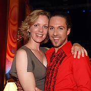 NLD/Baarn/20070519 - Dancing with the Stars 2007, Christoph Haddad en partner Annemieke van der Veer