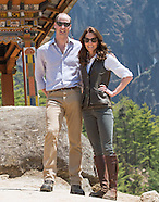 Kate Middleton & Prince William Tigers Nest Trek, Bhutan