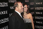 GEORGINA CHAPMAN AND HARVEY WEINSTEIN, 6th Annual Lanc»me Colour Designs Awards In association with CLIC Sargent Cancer Care.  Lindley Hall, Vincent Sq. London. 28 November 2006.  ONE TIME USE ONLY - DO NOT ARCHIVE  © Copyright Photograph by Dafydd Jones 248 Clapham Rd. London SW9 0PZ Tel 020 7733 0108 www.dafjones.com