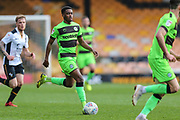 Forest Green Rovers Reece Brown(10) runs forward during the EFL Sky Bet League 2 match between Port Vale and Forest Green Rovers at Vale Park, Burslem, England on 23 March 2019.