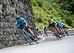 10.07.2019, Fuscher Törl, AUT, Ö-Tour, Österreich Radrundfahrt, 4. Etappe, von Radstadt nach Fuscher Törl (103,5 km), im Bild Winner Anacona (COL, Movistar Team) // Winner Anacona of Colombia (Movistar Team) during 4th stage from Radstadt to Fuscher Törl (103,5 km) of the 2019 Tour of Austria. Fuscher Törl, Austria on 2019/07/10. EXPA Pictures © 2019, PhotoCredit: EXPA/ Reinhard Eisenbauer