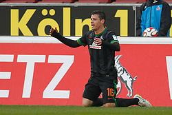 21.03.2015, RheinEnergieStadion, Köln, GER, 1. FBL, 1. FC Köln vs SV Werder Bremen, 26. Runde, im Bild Zlatko Junuzovic (SV Werder Bremen #16), Foto: Schueler/Eibner // during the German Bundesliga 26th round match between 1. FC Cologne and SV Werder Bremen at the RheinEnergieStadion in Köln, Germany on 2015/03/21. EXPA Pictures © 2015, PhotoCredit: EXPA/ Eibner-Pressefoto/ Schüler<br /> <br /> *****ATTENTION - OUT of GER*****