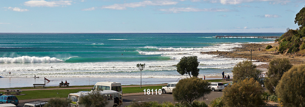 spring swell at Lorne Point