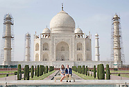 Kate Middleton & Prince William Visit The Taj Mahal 2