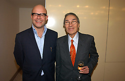 Left to right, HARRY HILL and BURT KWOK at the Lady Taverners Tribute lunch in honour of Ronnie Corbett held at The Dorchester Hotel, Park Lane, London on 3rd November 2006.<br /><br />NON EXCLUSIVE - WORLD RIGHTS