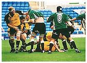 London Irish v Newcastle Falcons. Season 2001-2002