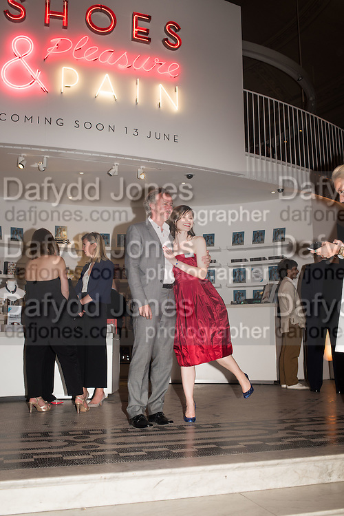 HEDLEY SWAIN; HELEN PERSSON; BRYONY SWAIN, Shoes: Pleasure and Pain. V & A Museum. South Kensington, London. 10 June 2015.