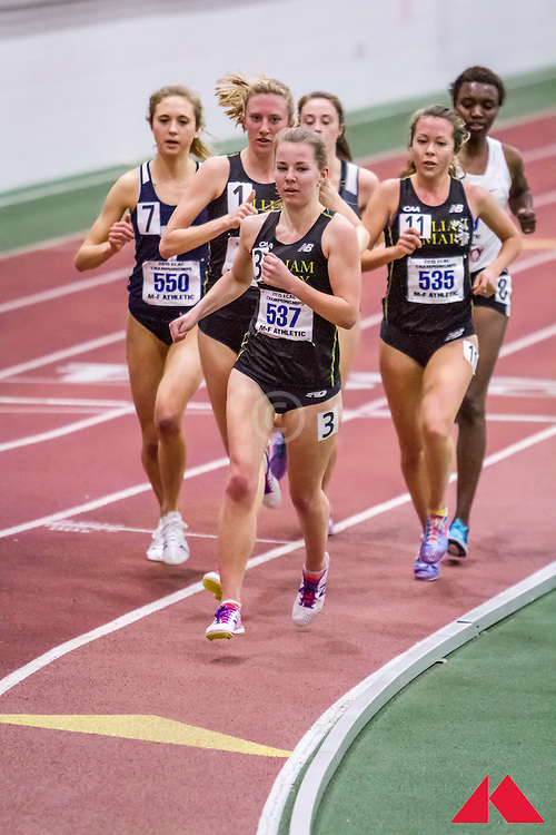 ECAC Indoor Champs, womens 5000, heat 2, Hassett, Dylan            SR William and Mary