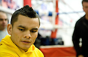 Dec. 8, 2010: Marcos Maidana worked out  at the IBA Gym in Las Vegas, in preparation of his Dec. 11 showdown with Amir Khan.