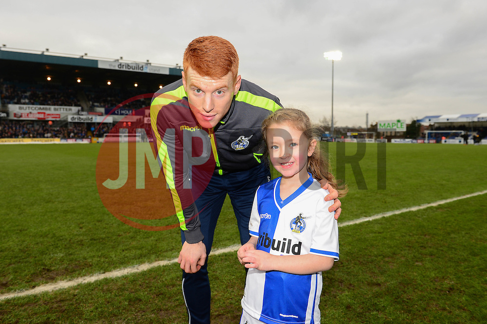 Mascot - Mandatory by-line: Dougie Allward/JMP - 07/01/2017 - FOOTBALL - Memorial Stadium - Bristol, England - Bristol Rovers v Northampton Town - Sky Bet League One