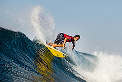 BALI, INDONESIA - MAY 19: Yago Dora of Brazil is eliminated from the 2019 Corona Bali Protected with an equal 17th finish after placing second in Heat 2 of Round 3 at Keramas on May 19, 2019 in Bali, Indonesia. (Photo by Matt Dunbar/WSL via Getty Images)