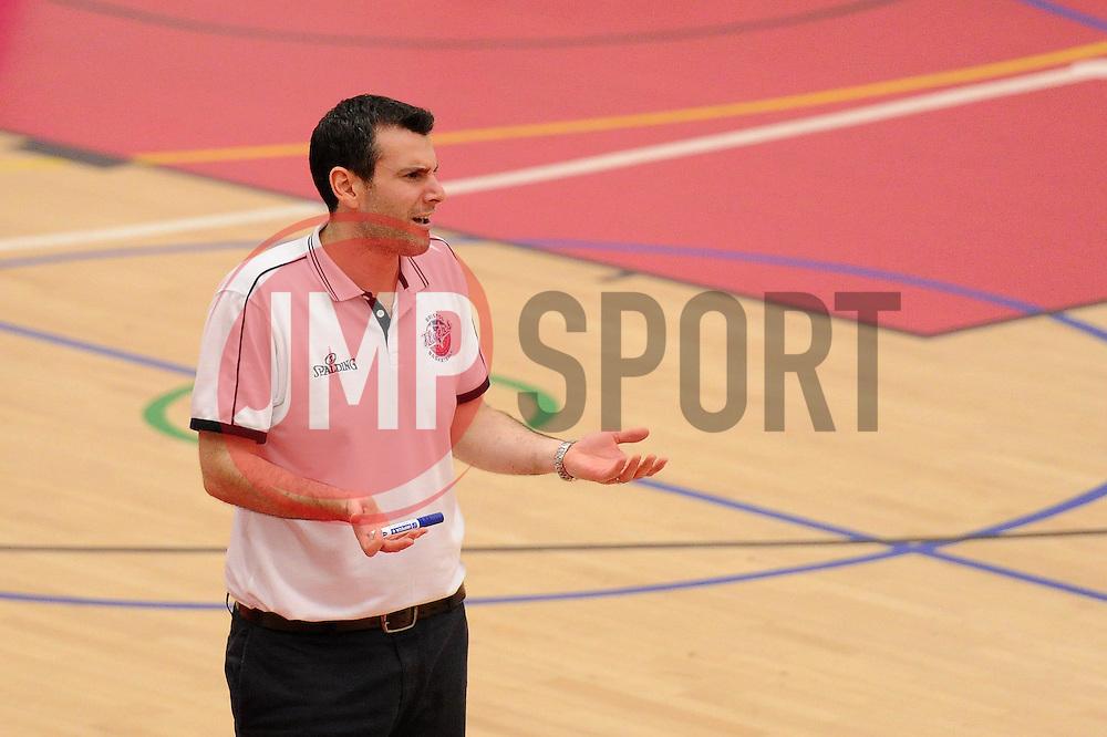 Bristol Flyers head coach Andreas Kapoulas - Mandatory byline: Dougie Allward/JMP - 06/02/2016 - FOOTBALL - SGS Wise Campus - Bristol, England - Bristol Flyers v Newcastle Eagles - British Basketball League