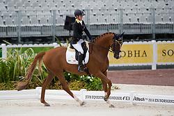 Silvia Ciarrocchi, (ITA), Royandic - Individual Test Grade IV Para Dressage - Alltech FEI World Equestrian Games™ 2014 - Normandy, France.<br /> © Hippo Foto Team - Jon Stroud <br /> 25/06/14