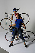 Boy meets Girl Bike Messenger