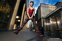 Jump! 42nd Street Dance As Art- The New York Photography Project featuring dancer Khadija Griffith.