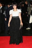 Lily Allen, The BFI London Film Festival: Saving Mr Banks - World Film Premiere, Odeon Leicester Square, London UK, 20 October 2013, Photo by Richard Goldschmidt