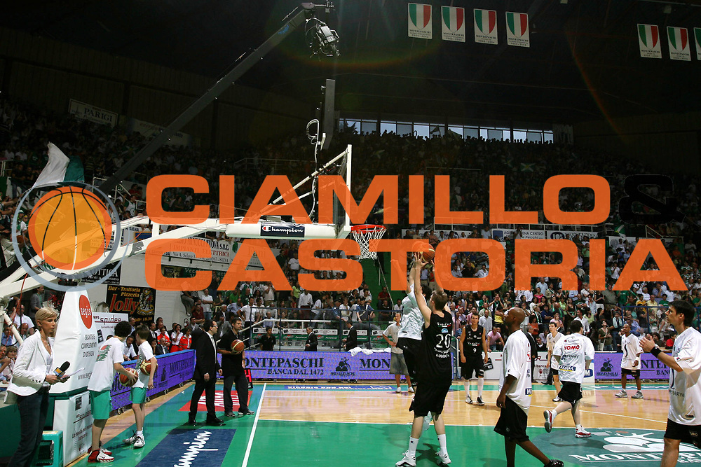 DESCRIZIONE : Siena Lega A1 2006-07 Playoff Finale Gara 3 Montepaschi Siena VidiVici Virtus Bologna <br /> GIOCATORE : <br /> SQUADRA : Sky <br /> EVENTO : Campionato Lega A1 2006-2007 Playoff Finale Gara 3 <br /> GARA : Montepaschi Siena VidiVici Virtus Bologna <br /> DATA : 17/06/2007 <br /> CATEGORIA : Before <br /> SPORT : Pallacanestro <br /> AUTORE : Agenzia Ciamillo-Castoria/G.Ciamillo