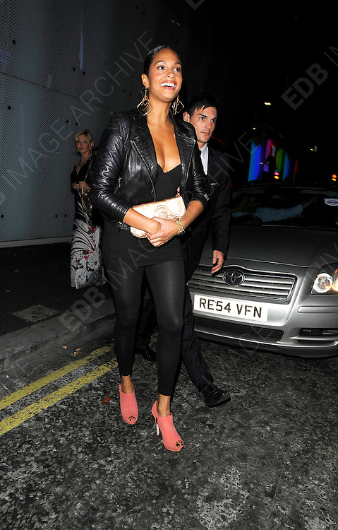 13.JULY.2011. LONDON<br /> <br /> SINGER ALESHA DIXON AT THE W HOTEL IN CENTRAL LONDON<br /> <br /> BYLINE: EDBIMAGEARCHIVE.COM<br /> <br /> *THIS IMAGE IS STRICTLY FOR UK NEWSPAPERS AND MAGAZINES ONLY*<br /> *FOR WORLD WIDE SALES AND WEB USE PLEASE CONTACT EDBIMAGEARCHIVE - 0208 954 5968*
