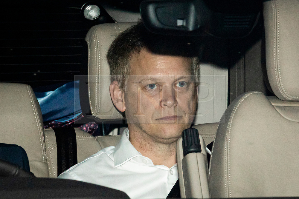 © Licensed to London News Pictures. 20/12/2019. London, UK. Secretary of State for Transport Grant Shapps leaves parliament after MPs voted to pass Boris Johnson's Withdrawal Agreement Bill. Photo credit: Rob Pinney/LNP