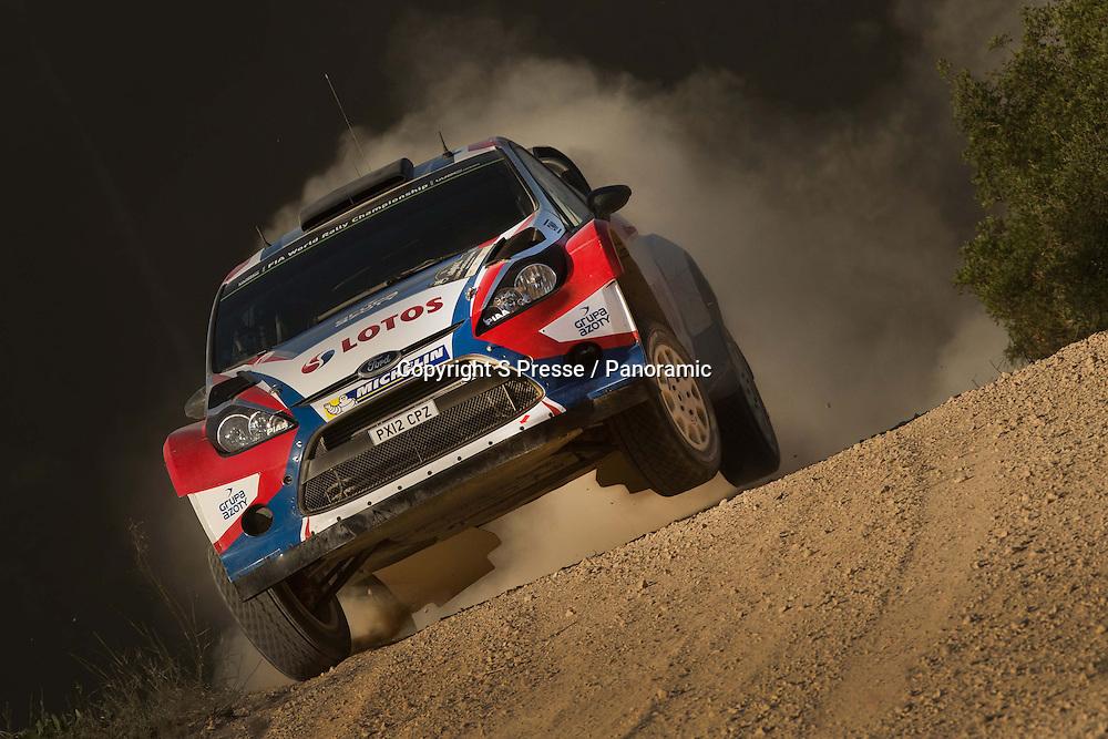 Robert Kubica (POL)- SZPA (POL)- Ford Fiesta WRC