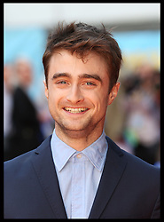 Image licensed to i-Images Picture Agency. 12/08/2014. London, United Kingdom. Danielle Radcliffe  at the What If premiere in London .  Picture by Stephen Lock / i-Images