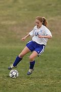 MCHS JV Girls Soccer.vs Greene.March 26, 2007