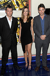 Bill Ward, Charlie Webster & Dougray Scott attends A Thousand Kisses Deep UK film premiere gala screening of Dana Lustig's drama about domestic violence, raising funds for Women's Aid.The film stars Dougray Scott, Jodie Whittaker and Emilia Fox, Tuesday June 12, 2012. Photo By Chris Joseph