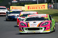 Jordan Stilp (GBR) / William Phillips (GBR)  #45 RCIB Insurance Racing  Ginetta G55 GT3  Ford Cyclone 3.7L V6  British GT Championship at Oulton Park, Little Budworth, Cheshire, United Kingdom. May 30 2016. World Copyright Peter Taylor/PSP. Copy of publication required for printed pictures.  Every used picture is fee-liable. http://archive.petertaylor-photographic.co.uk