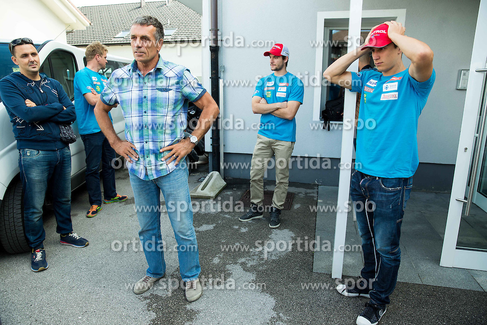 Vlado Makuc at departure of Slovenian Men Ski Team to training camp in Argentina and Chile on August 21, 2014 in SZS, Ljubljana, Slovenia. Photo by Vid Ponikvar / Sportida.com