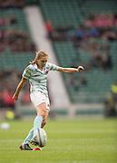 Twickenham, United Kingdom. Alice MIDDLETON, coverting Anna WILSON'S try, during the  2015 Women's Varsity Match, Oxford vs Cambridge, RFU Twickenham Stadium, England.<br /> <br /> Thursday  10/12/2015<br /> <br /> [Mandatory Credit. Peter SPURRIER/Intersport Images].