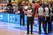 DESCRIZIONE : Beko Supercoppa 2015 Finale Grissin Bon Reggio Emilia - Olimpia EA7 Emporio Armani Milano<br /> GIOCATORE : Enrico Sabetta<br /> CATEGORIA : Arbitro Referee Before Pregame<br /> SQUADRA : AIAP<br /> EVENTO : Beko Supercoppa 2015<br /> GARA : Grissin Bon Reggio Emilia - Olimpia EA7 Emporio Armani Milano<br /> DATA : 27/09/2015<br /> SPORT : Pallacanestro <br /> AUTORE : Agenzia Ciamillo-Castoria/L.Canu