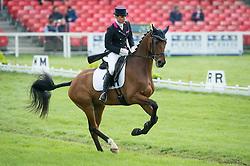 Merel Blom (NED) - Rumour Has It <br /> Dressage - CCI4* <br /> Mitsubishi Motors Badminton Horse Trials <br /> Badminton 2014<br /> © Hippo Foto - Jon Stroud