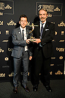 Bertrand Lambert - President PanamBoyz United / Frederic THIRIEZ - 17.05.2015 - Ceremonie des Trophees UNFP 2015<br />
