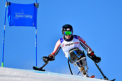 STEPHENS Laurie, LW12-1, USA, Giant Slalom at the WPAS_2019 Alpine Skiing World Cup, La Molina, Spain