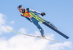 31.01.2020, Seefeld, AUT, FIS Weltcup Nordische Kombination, Skisprung, im Bild Jarl Magnus Riiber (NOR) // Jarl Magnus Riiber of Norway during Skijumping Competition of FIS Nordic Combined World Cup at the Seefeld, Austria on 2020/01/31. EXPA Pictures © 2020, PhotoCredit: EXPA/ Stefan Adelsberger