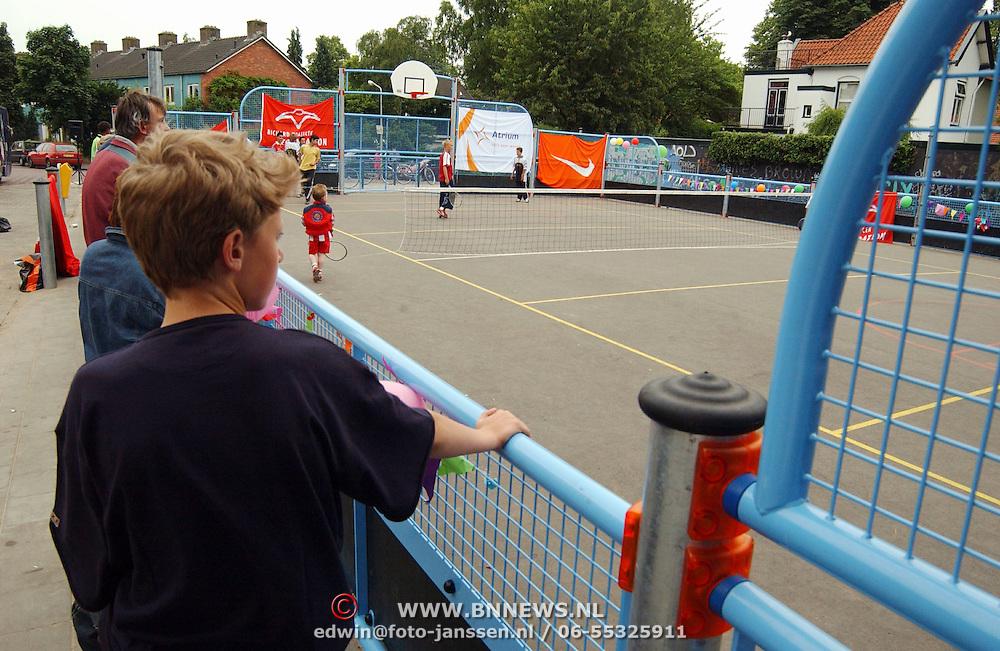 Opening speelplaats Olivier van Noortstraat Hilversum