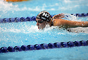 Nichola Chellingworth of New Zealand in action during the Womens 50m Butterfly Event on the second day of the Swimming at the XVIII Commonwealth Games, Melbourne, Australia, on Friday 17 March, 2006. Photo: Joe Mann/PHOTOSPORT<br /><br /><br />150077