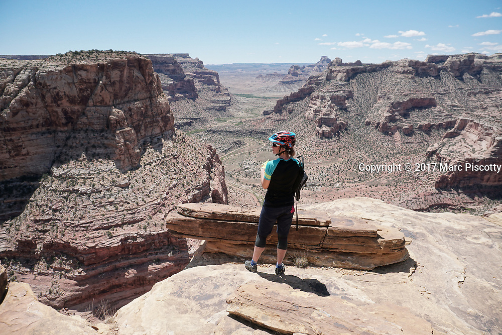SHOT 5/20/17 11:57:50 AM - Emery County is a county located in the U.S. state of Utah. As of the 2010 census, the population of the entire county was about 11,000. Includes images of mountain biking, agriculture, geography and Goblin Valley State Park. (Photo by Marc Piscotty / © 2017)