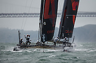ACWS San Francisco #1, practice before racing begins.