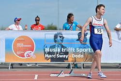03/08/2017; Saberton, Jayden, T37, GBR at 2017 World Para Athletics Junior Championships, Nottwil, Switzerland